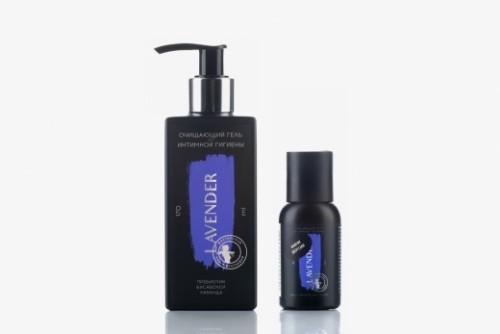 Lavender для интимной гигиены гель очищающий пребиотик бисаболол лаванда 170мл