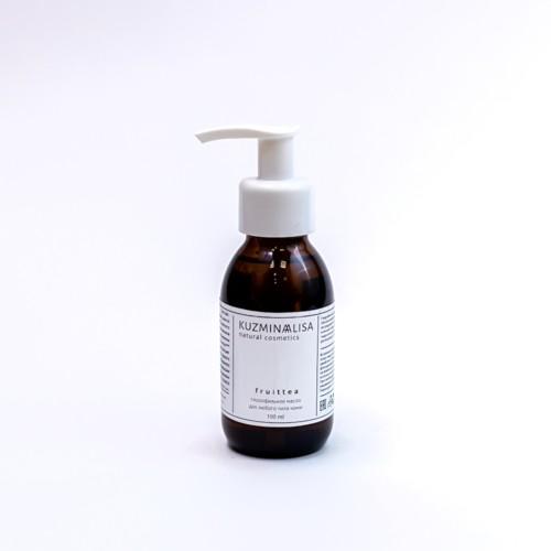 fruittea, универсальное гидрофильное масло для умывания 100 мл