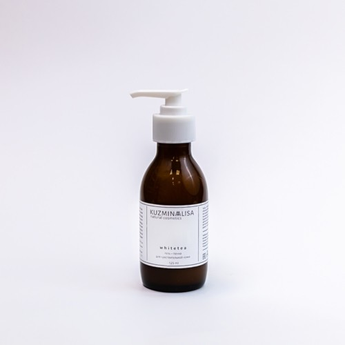 KUZMINAALISA whitetea, гель - пенка для чувствительной кожи, 125 мл