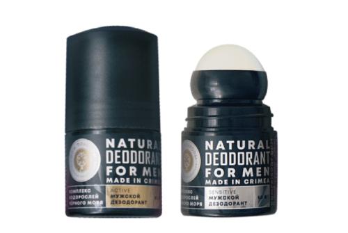 Натуральный дезодорант  с комплексом водорослей Черного моря