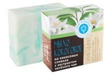 Натуральное мыло на кокосовых сливках ДЕТОКС-ЭФФЕКТ, 90г