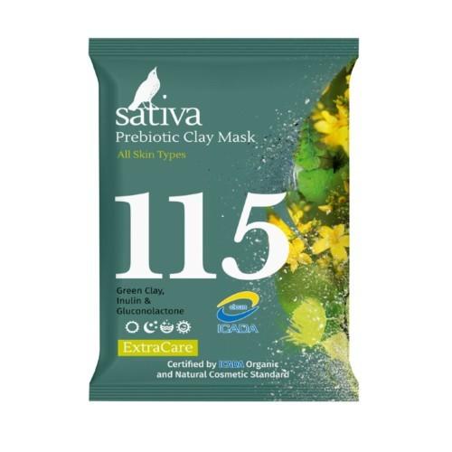 Sativa №115 Маска минеральная с пребиотиком 15г