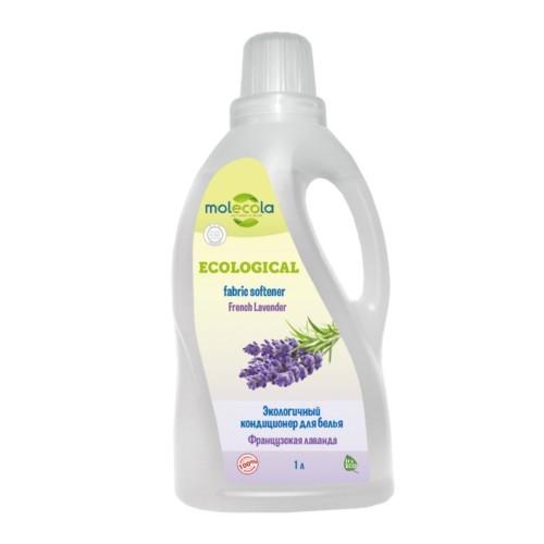 MOLECOLA - Кондиционер для белья French Lavender Французская лаванда экологичный, 1 л