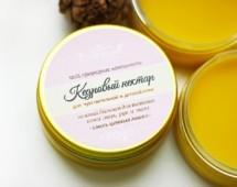 """""""Кедровый нектар"""" для детей и чувствительной кожи нежный бальзам для питания кожи"""