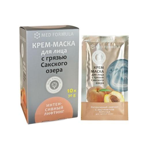 Крем-маска Интенсивный лифтинг для зрелой кожи с грязью Сакского озера 1 саше