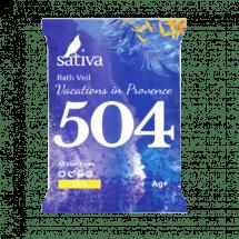 """Sativa №504 Вуаль для ванны """"Каникулы в Провансе"""" 15г"""