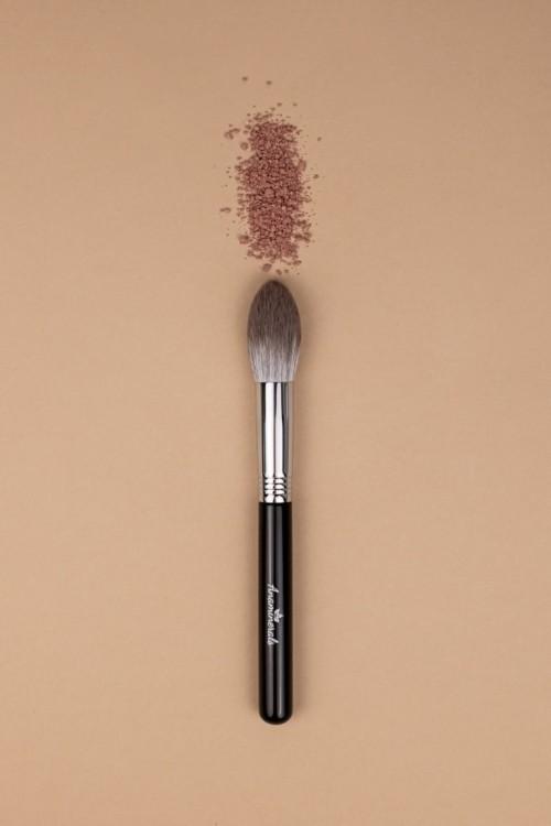 Кисть для румян/скульптора с ворсом из кукурузного волокна