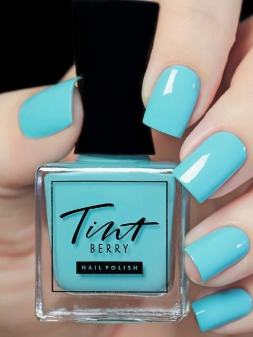 Голубая лагуна лак для ногтей