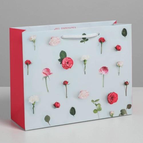 Пакет ламинированный горизонтальный «Ты прекрасна», MS 18 × 23 × 8 см